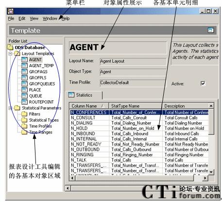 图3.9 报表设计工具界面布局设计图